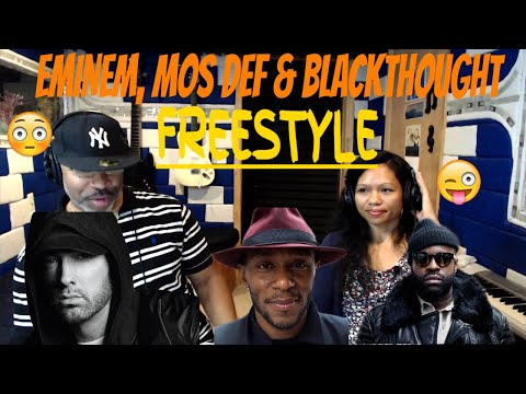 Eminem Mos Def And Black Thought Freestyle At The Cypher - Producer Reaction