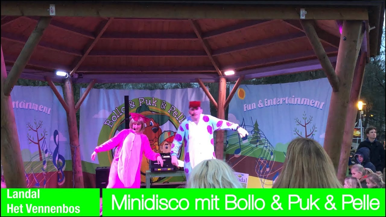 Vennenbos Landal Zwembad Mini Disco With Bollo Puk Pelle At Landal Greenparks Het Vennenbos