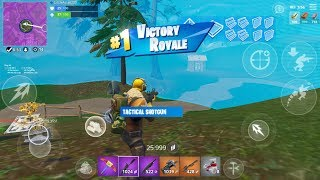 Fast Fortnite Mobile Builder On iPhone / 240+ Wins / Give Away At 275 Sub / New Shotgun Game Play