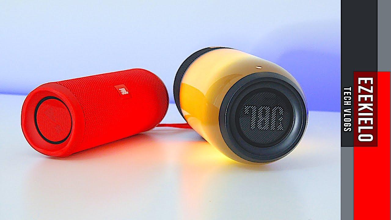Jbl Pulse Flip Sound Comparison Youtube