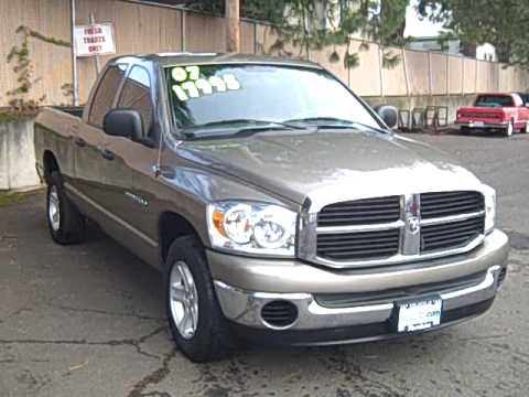 2007 Dodge Ram Pickup 1500 St Quad Cab