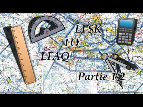 [TUTO] Préparation navigation aérienne : Vitry - Albert | VFR | Part 1
