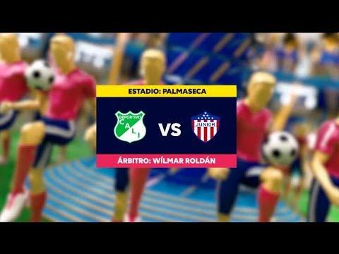 Cali vs. Junior (Mejores Momentos) | Liga Aguila 2019-1 | Fecha 16