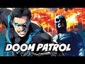The Flash Season 5 Crossover - Titans Doom Patrol Origin Scene Explained