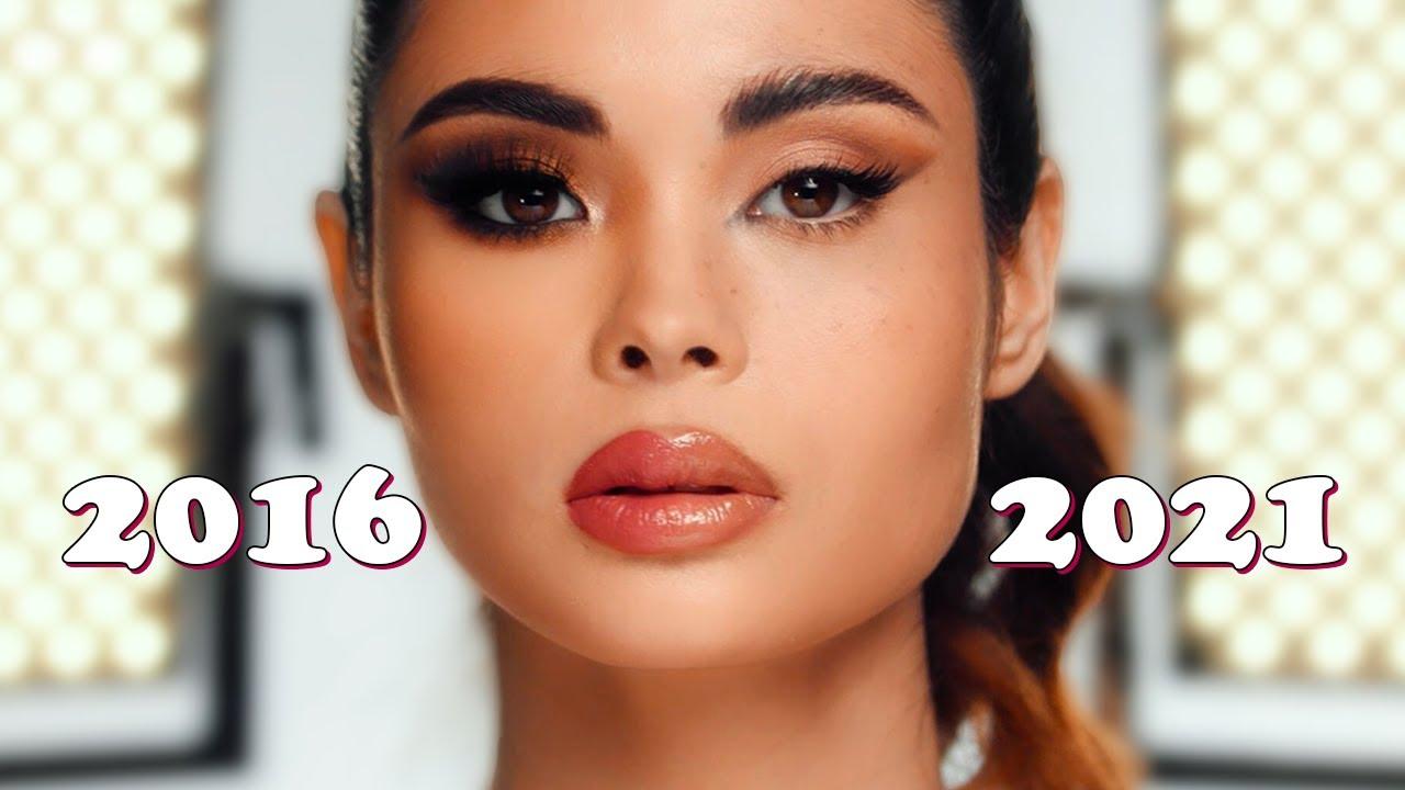 2021 vs 2016 MAKEUP TREND | Professional Makeup Challenge