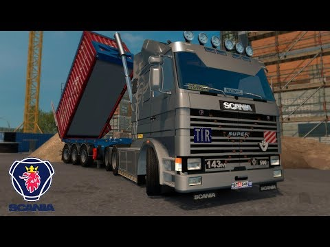 ETS2 v1.28 I Mod ★ SCANIA 113M & 143M [Deutsch/HD]