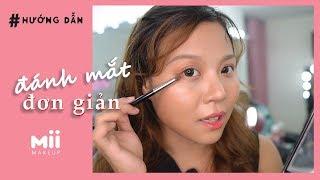 [ Tips ] Hướng dẫn đánh mắt đơn giản đi học, đi làm với Bảng Phấn Mắt Sivanna của Thái Lan