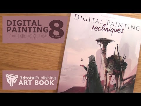 digital-painting-techniques-volume-8-by-3dtotal-publishing---an-art-book-quick-look
