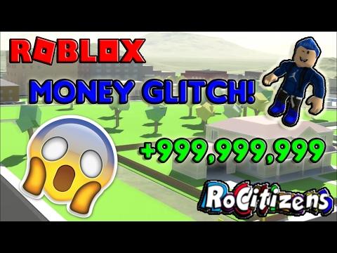 ROBLOX | RoCitizens INSANE MONEY GLITCH! [WORKING] [NEW] [FEBRUARY 2017]
