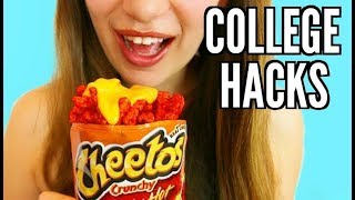 10 College Life Hacks for Lazy Students!