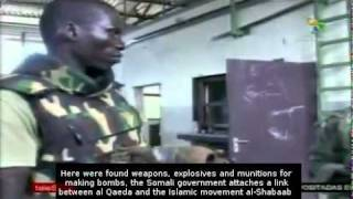 African armed forces seize weapons arsenal in Somalia