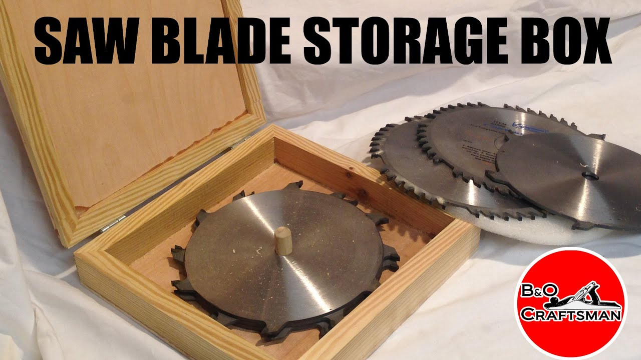 Saw blade storage box youtube keyboard keysfo Gallery