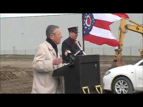 U.S. Sen. Voinovich at Partnership Way groundbreaking - 3.15.10