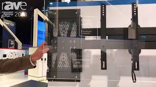 ISE 2018: Legrand Showcases Middle Atlantic PRX-SMP-15X10 Proximity Series Sliding Mounting Plate