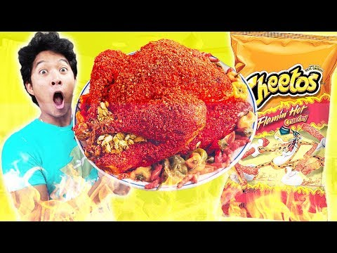How to make: HOT CHEETOS TURKEY!!!