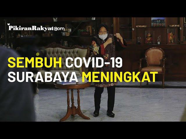 Tren Pasien Sembuh Covid-19 Surabaya Meningkat, Risma: Hotel Isolasi Kosong adalah Bukti