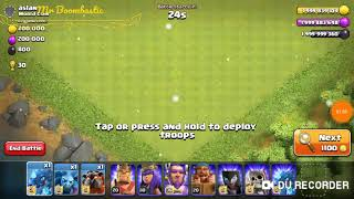 COC ALL AIR BOMB VS ALL AIR TROOPS