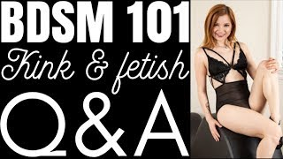 BDSM 101 Pt.1 Kink & Fetish Q&A - Coffee With Alice Little