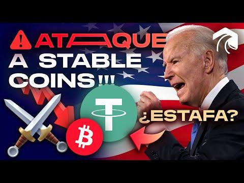 TETHER ES UNA ESTAFA?? EEUU QUIERE DESTRUIRLO!!! | Bitcoin y mercado cripto en peligro? TODA la info