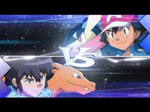 Pokemon Ash VS Alan - Final Battle - Light em' up (Fall Out Boy)