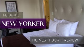 DID HOTWIRE LIE? REVIEW & ROOM TOUR AT THE NEW YORKER HOTEL