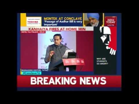 Kanhaiya Kumar & Student Leaders Debate On Nationalism | India Today Conclave 2016