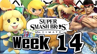 Smash Bros Ultimate Update: Isabelle Reveal, Summit, Bowser, Toon Link, Ryu & Smash Bundle - Week 14