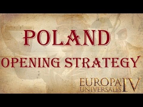 Europa Universalis 4 - Poland starting strategy