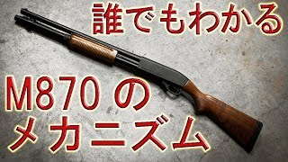 【実銃解説】名作ショットガン!レミントンM870のメカニズム
