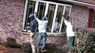 Installing Bow Window