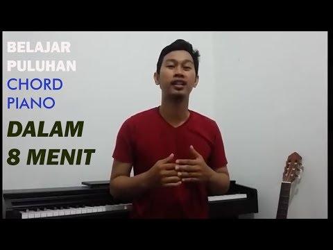 TIPS BELAJAR PULUHAN CHORD (KUNCI) PIANO DALAM 8 MENIT - BAGI PEMULA