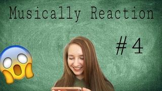 SIE GEHT AUF MEINE SCHULE :0 Musically Reaction! || ItsLara