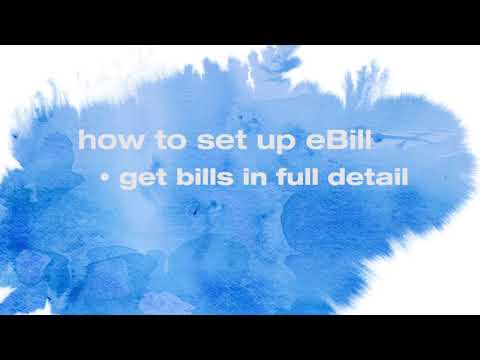 How To Set Up EBill With Online Bill Pay