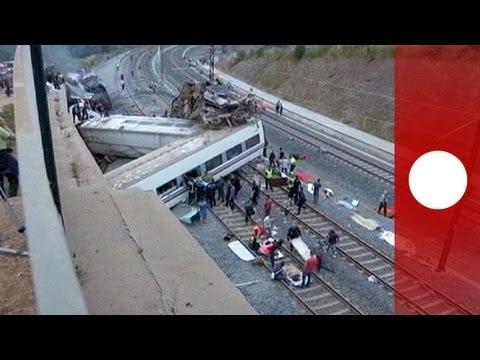 Incidente di Santiago: le immagini choc del deragliamento