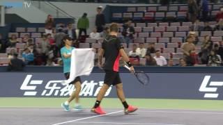 Djokovic Wins In Shanghai 2016 Thursday Highlights
