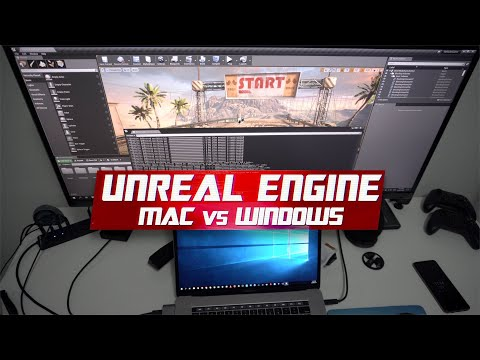 Unreal Engine 4 - Windows Vs Mac For Games Development