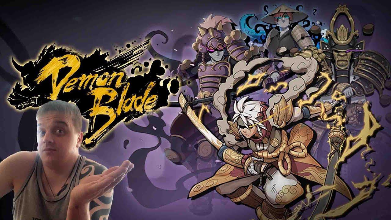 Download Демонический Клинок - Японская Экшн РПГ ► Demon Blade ►Обзор,Первый взгляд,Мнение об игре