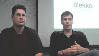 Michael Arrington interviews the Blekko founders