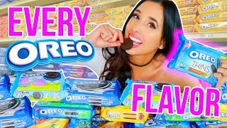 I Tried EVERY OREO Flavor (10,000 CALORIES!!) 🍪| Mar