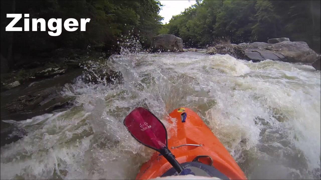 Kayaking Upper Yough August 2017