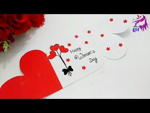Womens Day Handmade Greeting Card