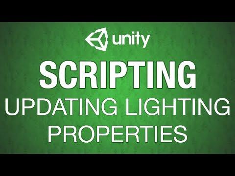 Unity 3d Lighting Manipulation - YouTube
