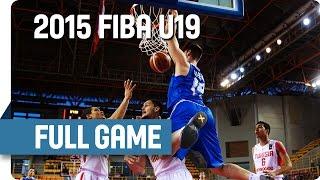 Tunisia v Greece - Round of 16 - Full Game - 2015 FIBA U19 World Championship