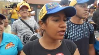Ciudadanía se volcó a la calle en reclamo de fecha para recolección del 20%