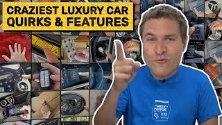 The 14 Craziest Luxury Car Features I've Ever Seen