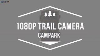 Campark Trail Game Camera 14MP 1080P Waterproof Hunting