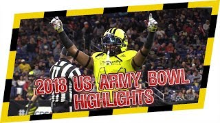 🔥 2018 US Army All American Game 🔥 Official Highlight with CRAZY ENDING! East goes for 2pt Conv!