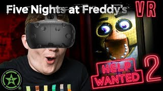 We're Safe Under the Desk! - Five Nights at Freddy's VR: Help Wanted (#2)