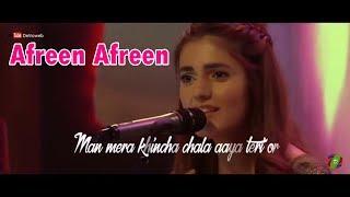 Afreen Afreen Female Version full song   Beautiful Song   Whatsapp status video