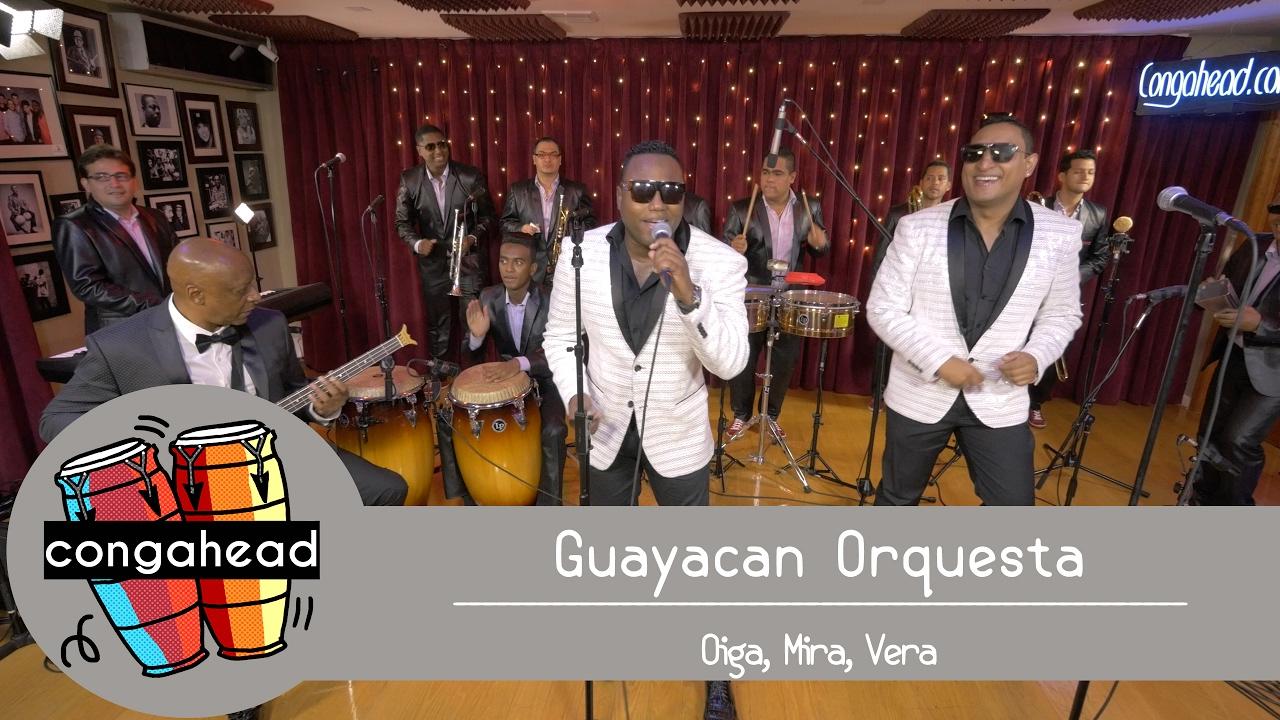 guayacan orquesta performs oiga